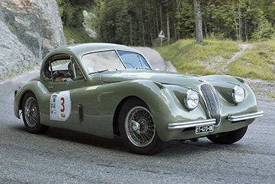 1953 / Jaguar XK 120 coupé