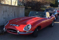 1968 / Jaguar Type E Roadster S. I 4,2l.