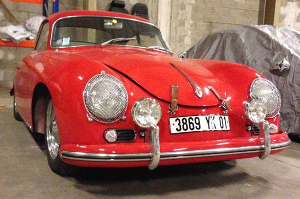 1958 / Porsche 356 A T2 Coupé