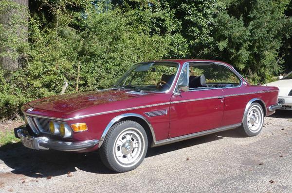 1971 / BMW 30 CSi Coupé (E9)