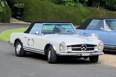 1968 / Mercedes 280SL Cabrio.